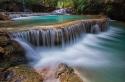 tad khongsi waterfall closeup