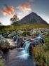 Glencoe evening by Michal Tekel