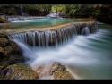 tad khongsi waterfall by Lester Woodward