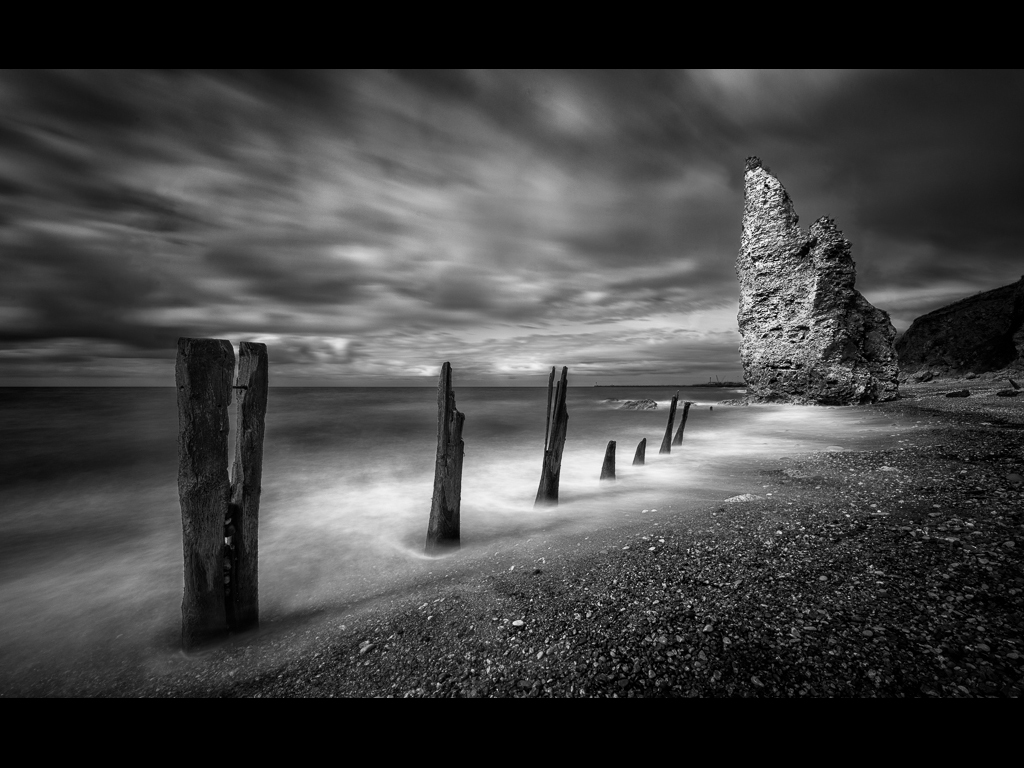 BATTERED AND WORN BUT STILL STANDING by Chris Newham