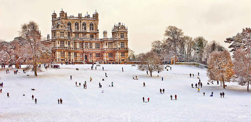WINTER FUN AT WOLLATON HALL by Bob Richards