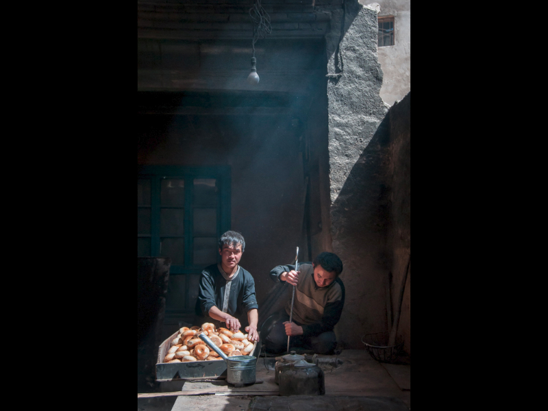 KASHGAR BAKERS by Lois Webb