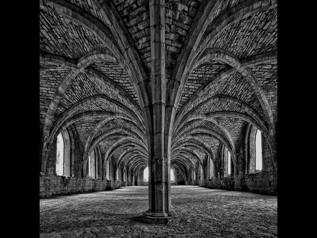 FOUNTAINS ABBEY by Michal Tekel