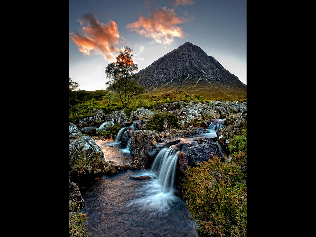 GLENCOE MORNING by Michal Tekel