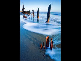 HAPPISBURGH BEACH MORNING by Michal Tekel