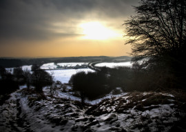 A WINTERS MORNING by Phil Hodgkinson