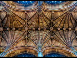 JOHN RYLANDS LIBRARY by Chris Houldsworth