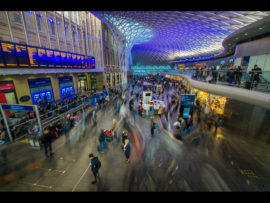 KINGS CROSS RUSH HOUR by Lester Woodward