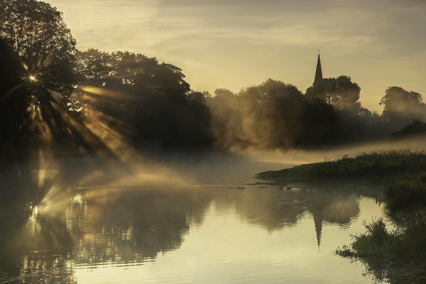 MORNING GLOW by Nigel Stewart