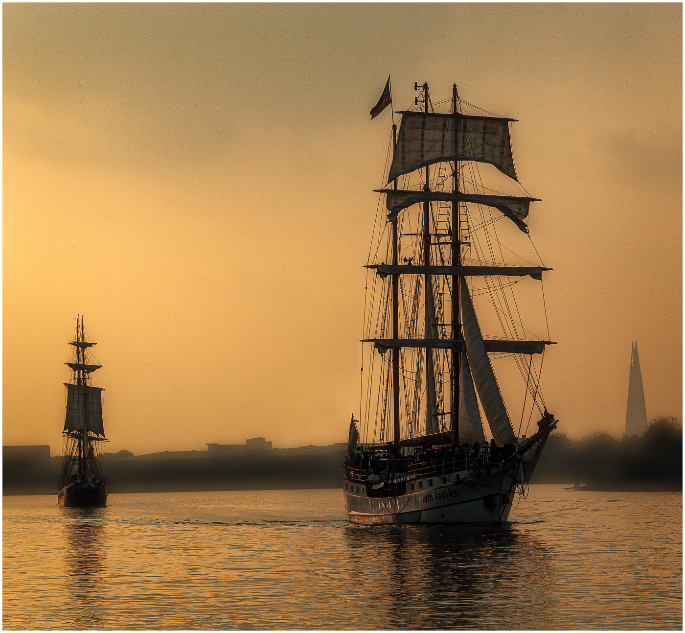 TALL SHIPS by Jack Worsnop