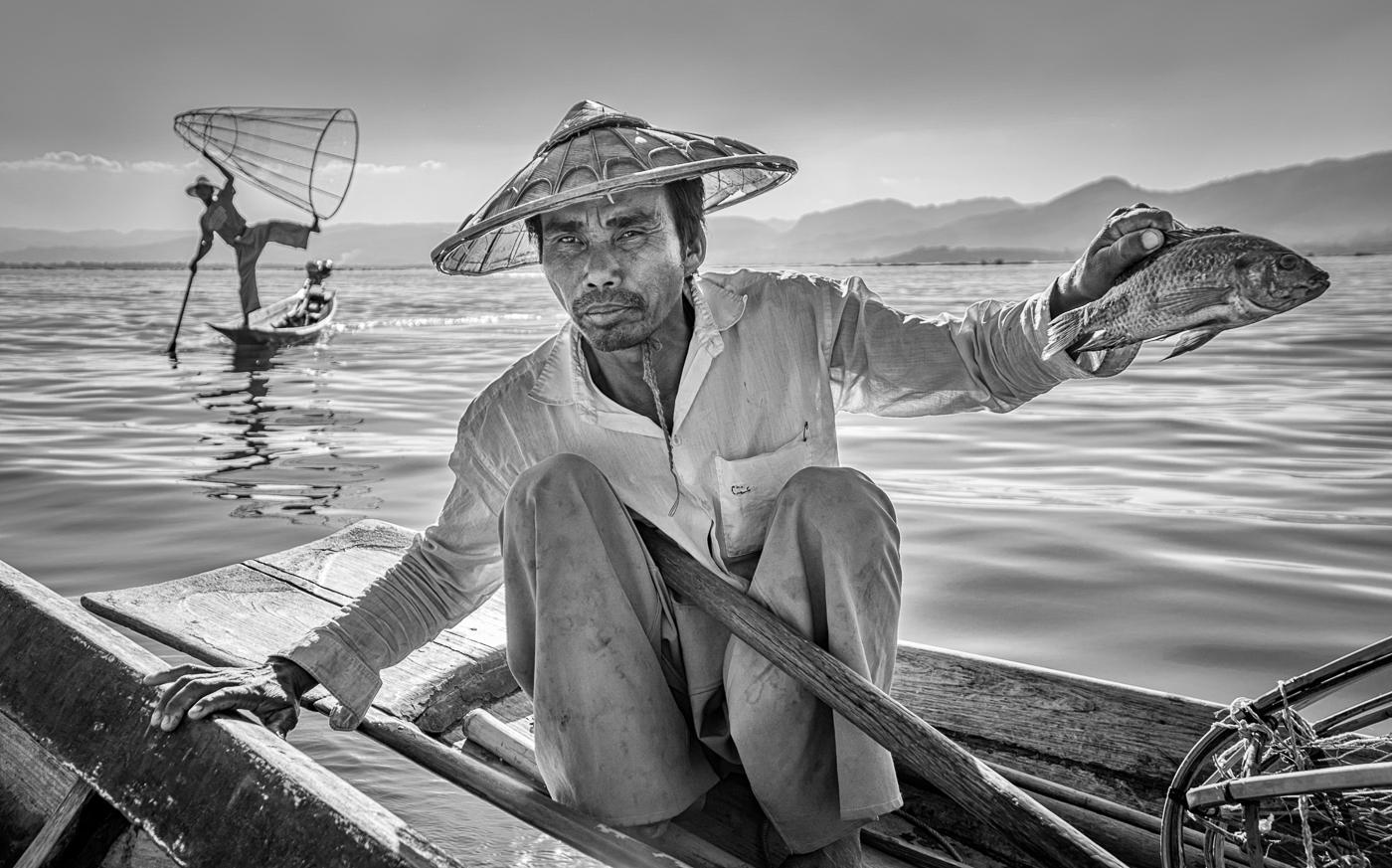 inlay fisherman