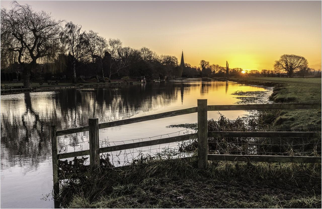 A WINTERS DAWN by Nigel Stewart